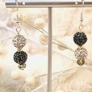Frontrow.style Jewelry - Sterling Sterling Earrings DAZZLE Austrian Cryst.